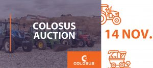Licitatia Colosus 14 noiembrie